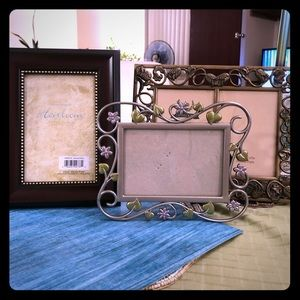 3 Heirloom Pictures Frames